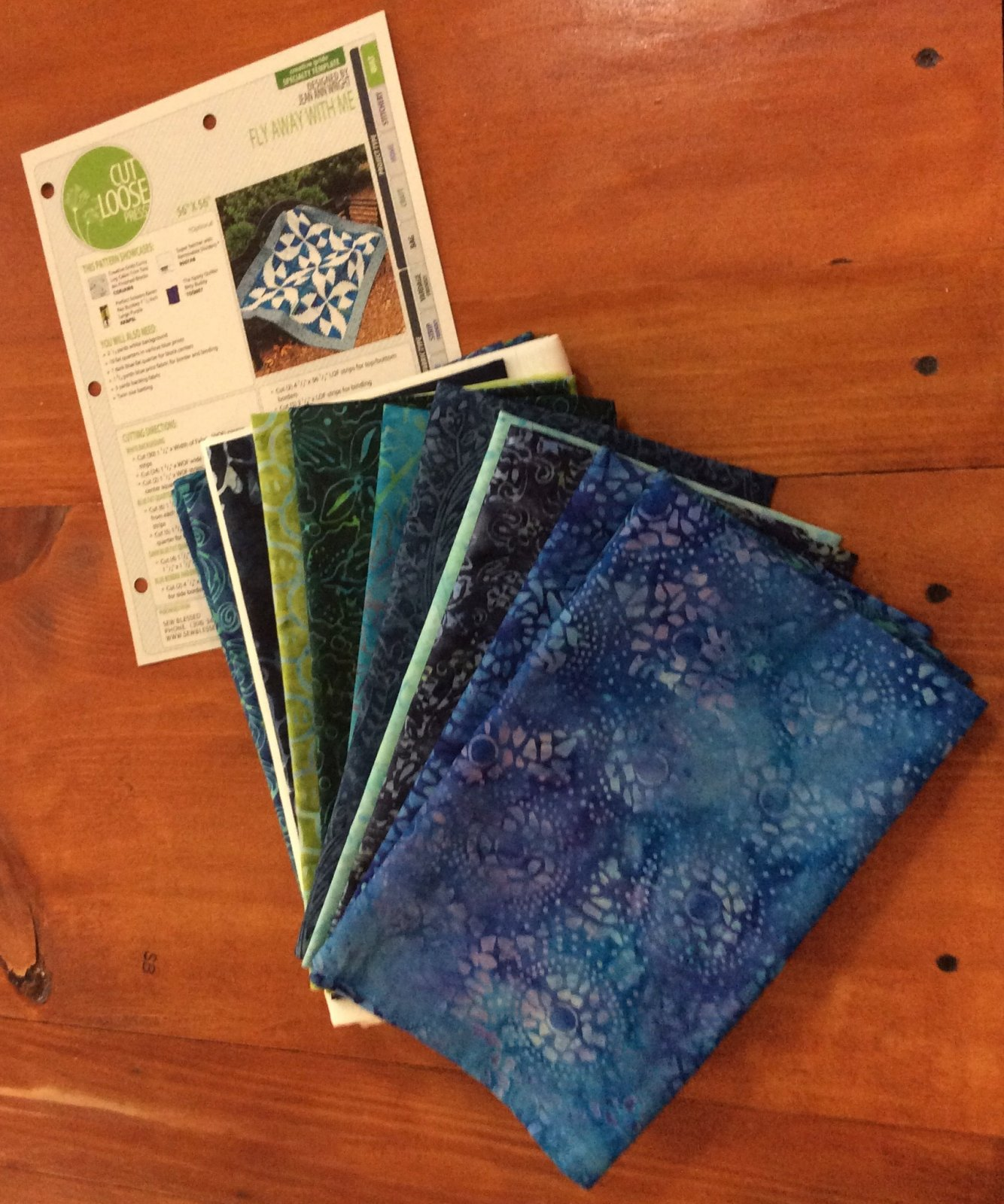 Fly Away with Me Quilt Kit