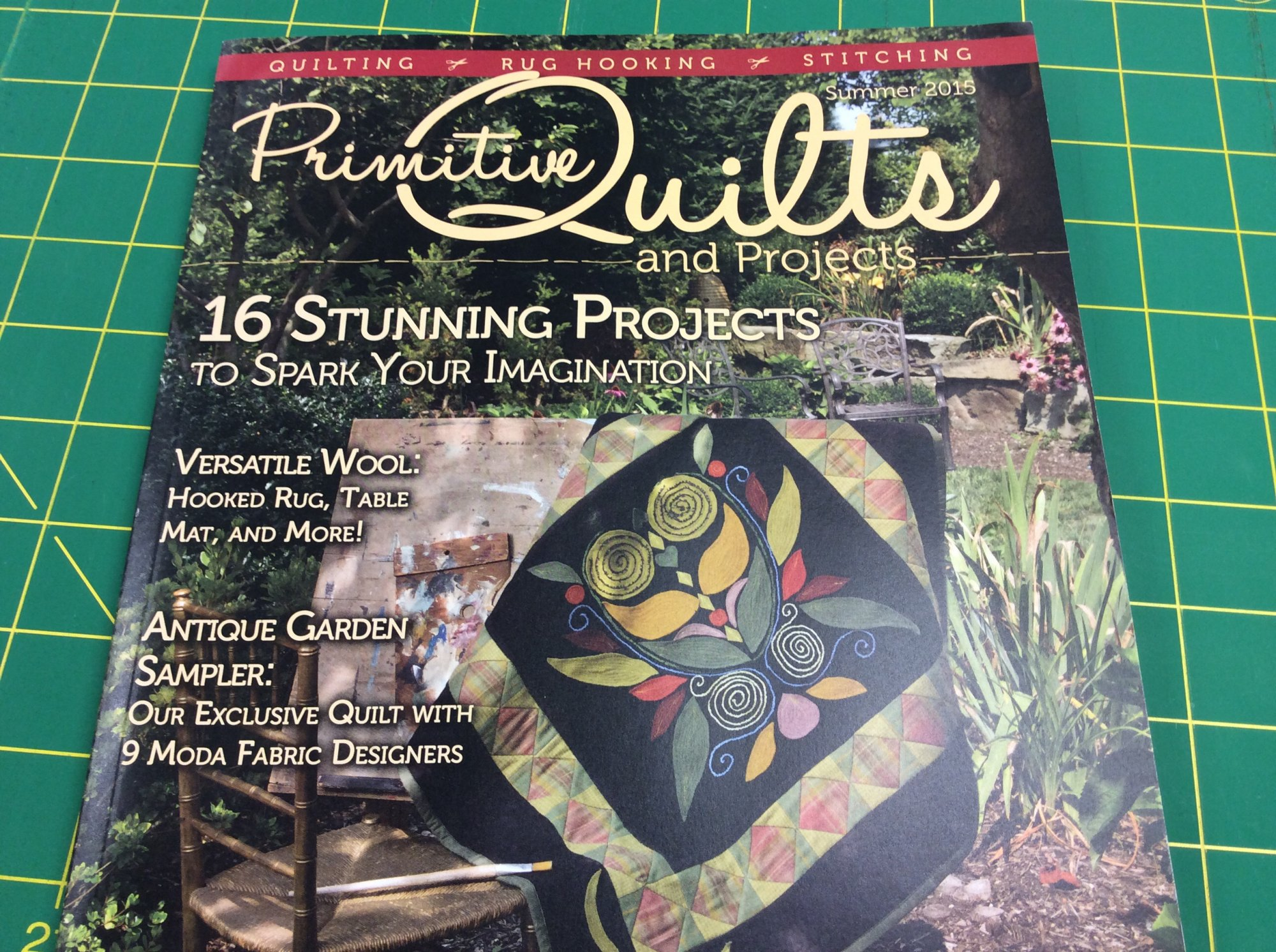 Quilts Project Magazine Summer 2015 : primitive quilts and projects magazine - Adamdwight.com