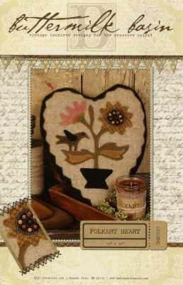 Folkart Heart