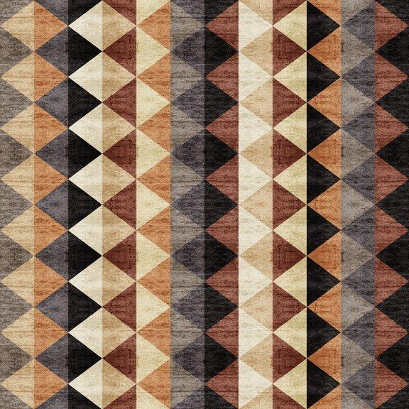 Woodland Spirit Brown Triangles