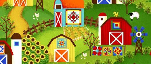 Barnyard Quilts 61200-6
