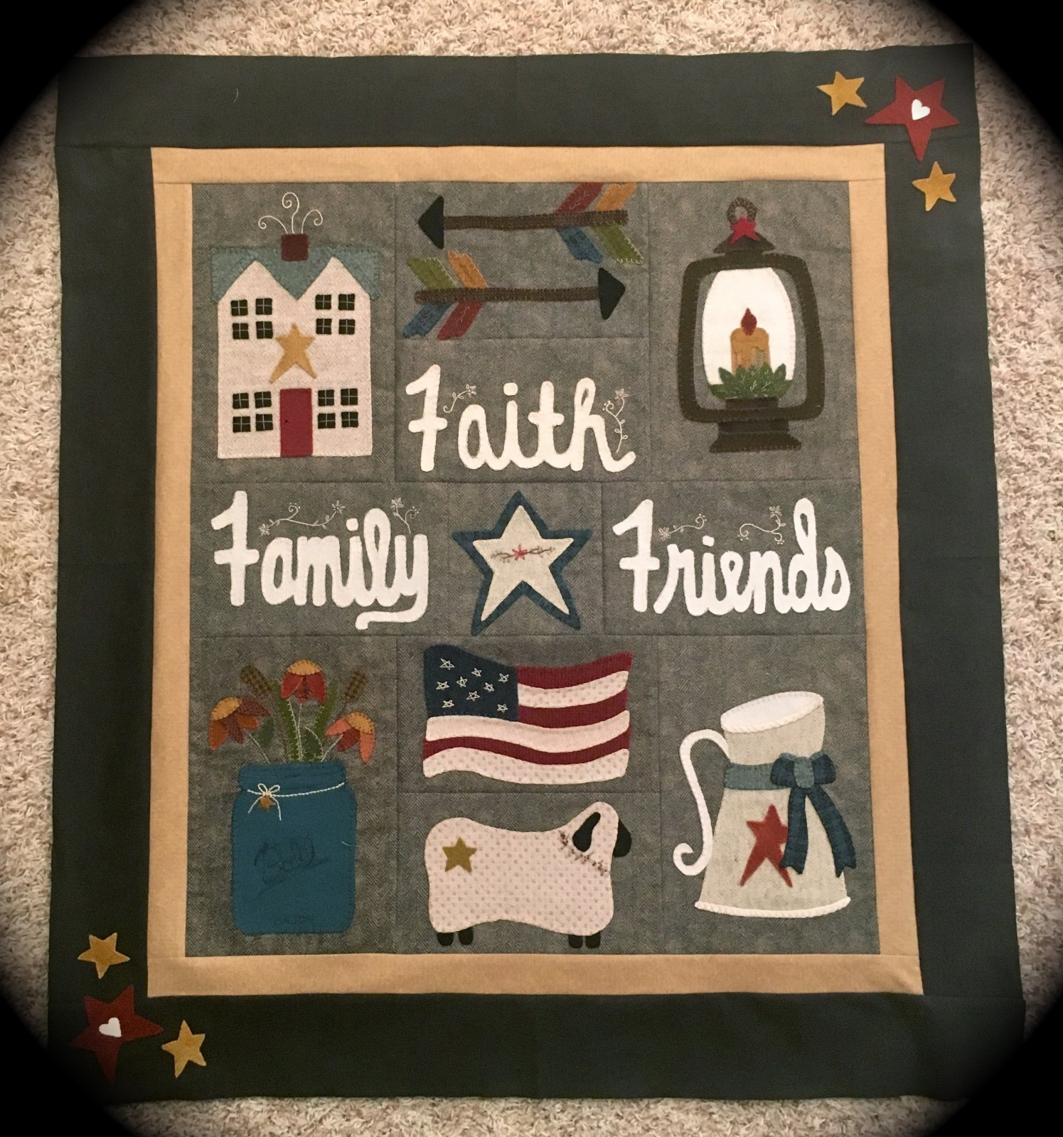 Faith, Family, Friends #12 Finishing kit
