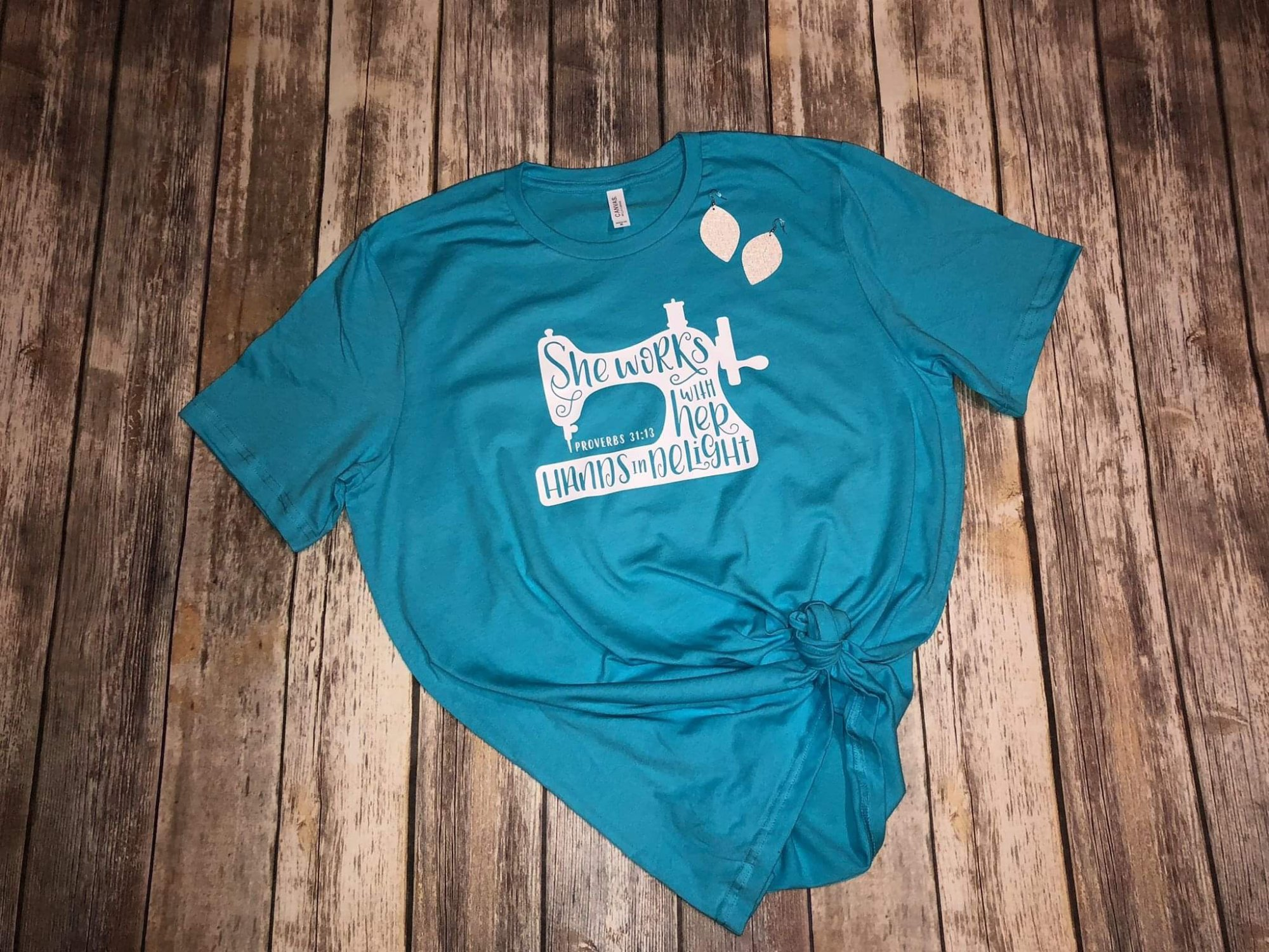 Turquoise T Shirt