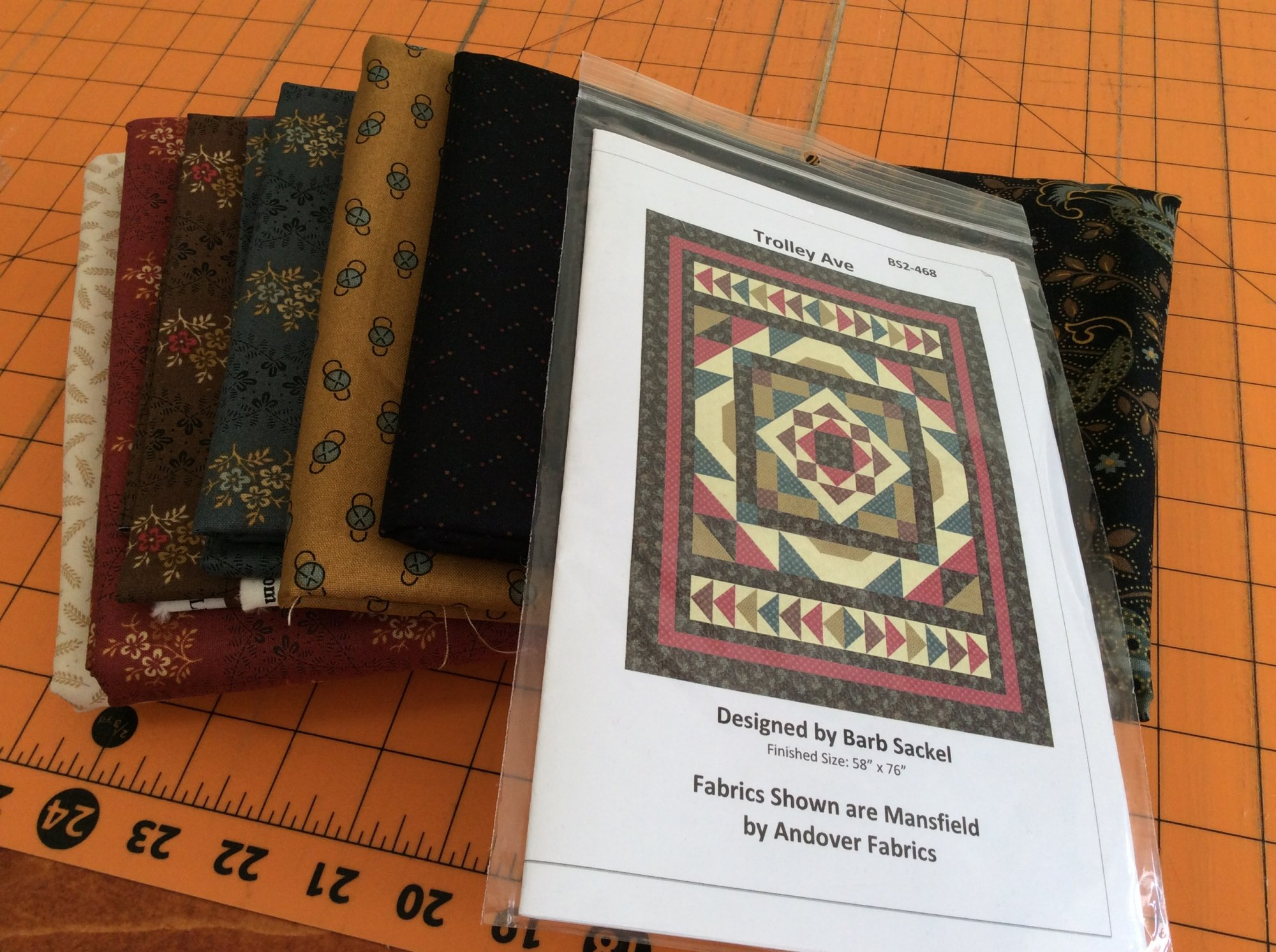 Trolley Ave Quilt Kit