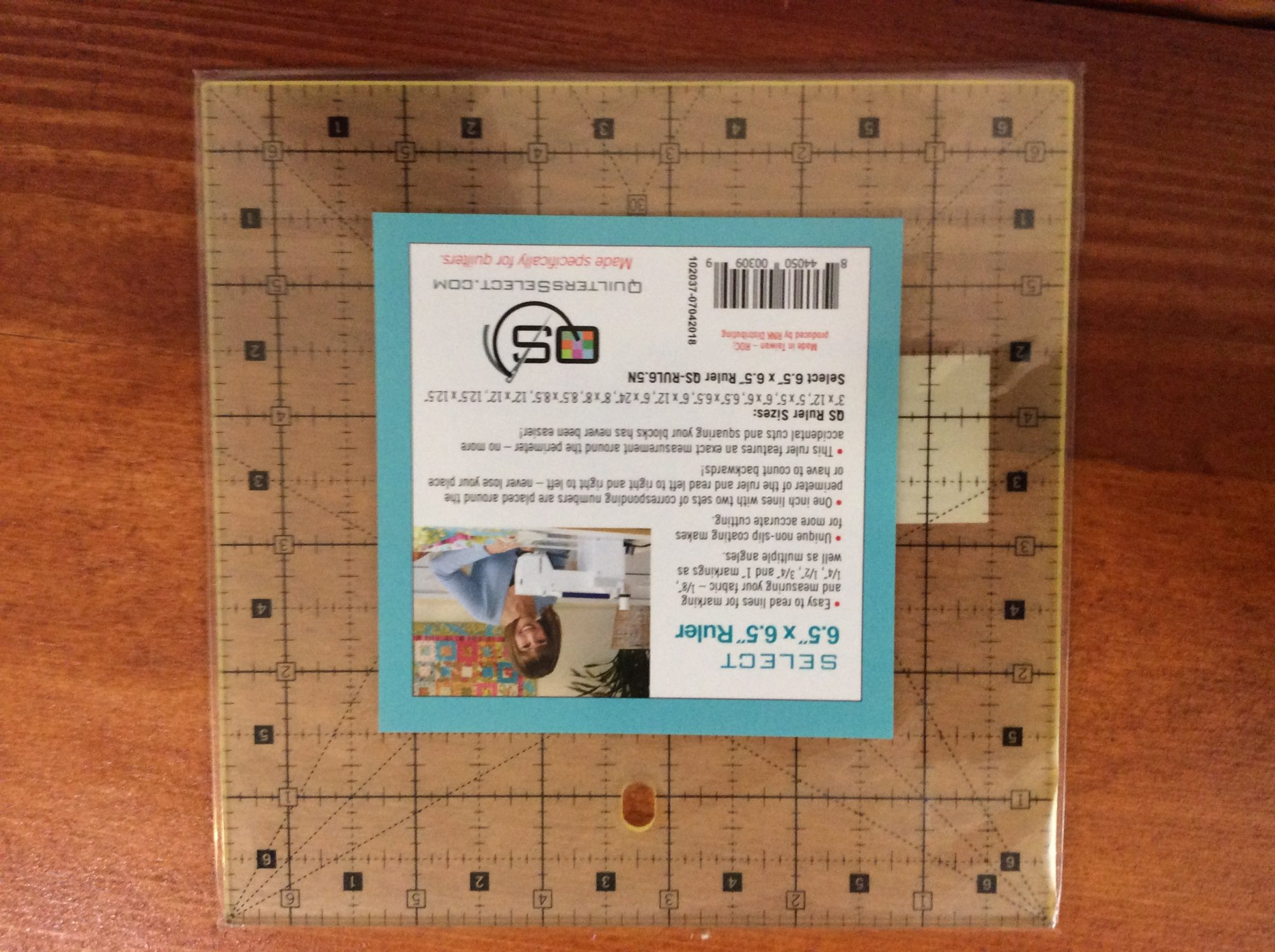 6.5 x 6.5 Ruler Quilters Select