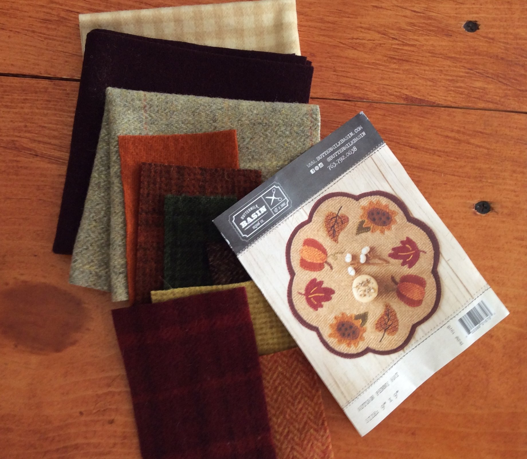Autumn Penny Mat Kit