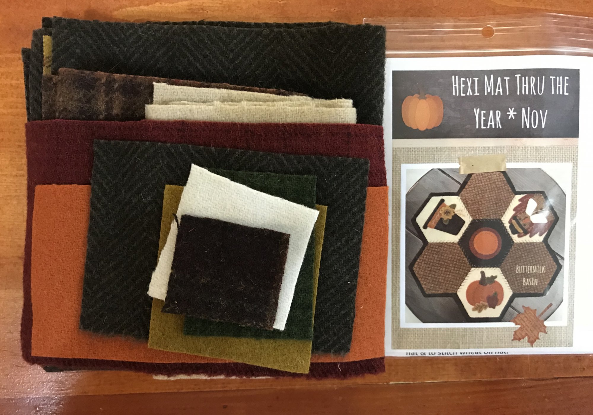 Hexi Mats thru the Year Nov Kit