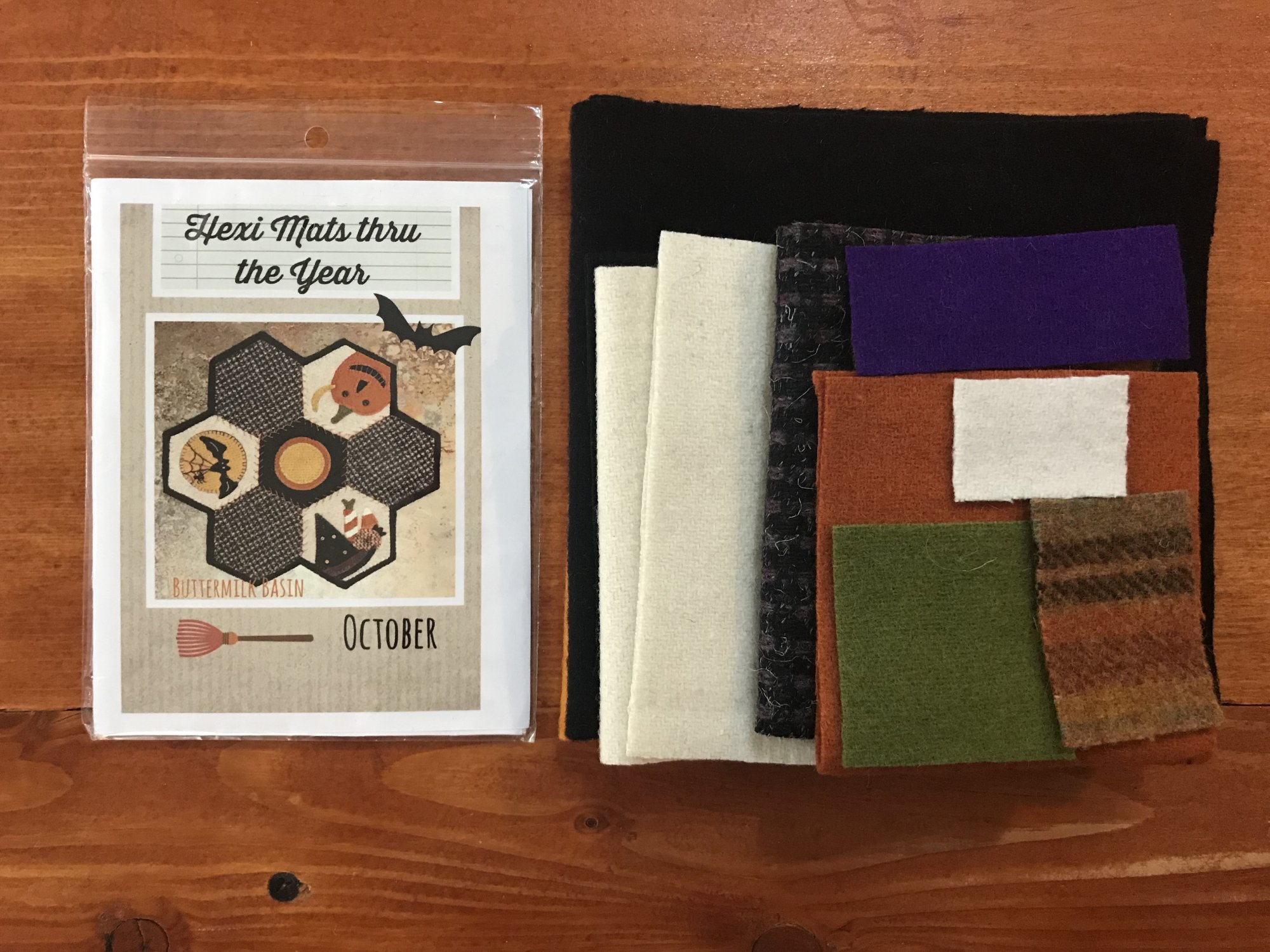 Hexi Mats thru the Year Oct Kit