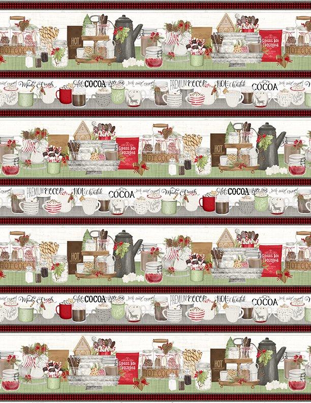 Hot Cocoa Bar Repeating Stripe Multi 3017-27596-197