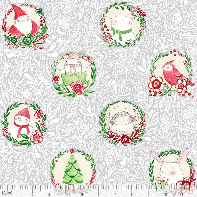 Glad Tidings Grey Merry & Bright Cori Dantini 112.120.02.1