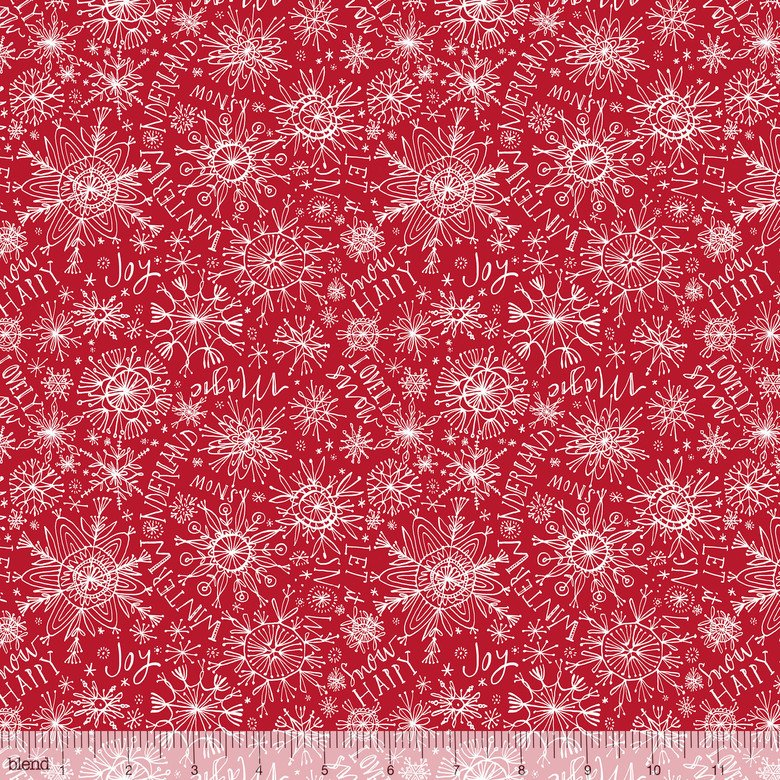 Snow Happy Red Merry & Bright Cori Dantini 112.120.03.1