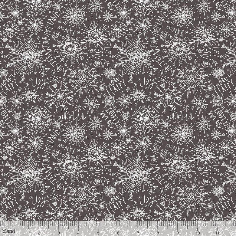 Snow Happy Grey Merry & Bright Cori Dantini 112.120.03.2