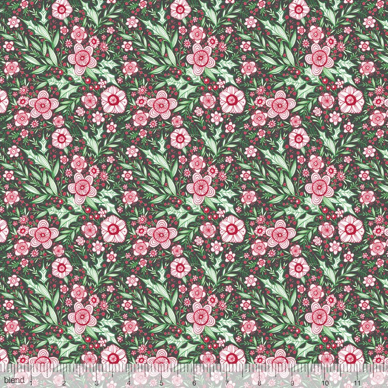 Winter Blooms Grey Merry & Bright Cori Dantini 112.120.04.2