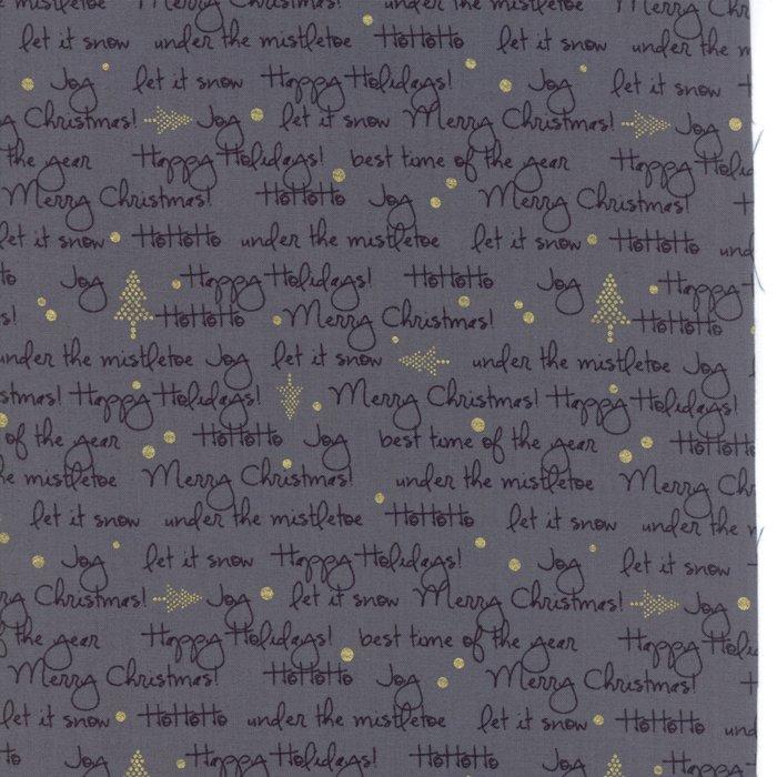 White Christmas Graphite 1652-14M Zen Chic