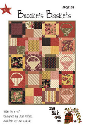 Brooke's Baskets - Jan Patek Quilts - Quilt fabric pattern
