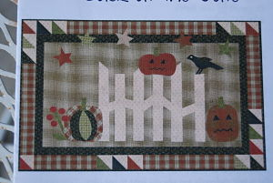 Jack at the Gate - Jan Patek Quilts - Quilt fabric pattern