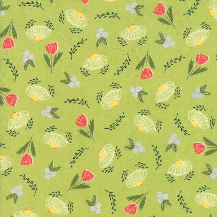 Clover Hollow Leaf Green 37551-14