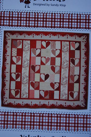 Valentine Quilt - American Jane Patterns - Quilt fabric pattern