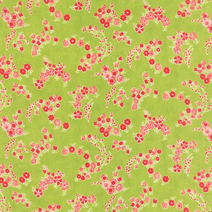 Little Ruby Flannel Green 55136-14F