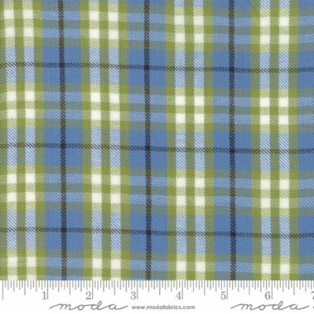 Oxford Plaid Chambray Sweetwater 5715-24