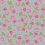 Candy Canes Grey 6907-11