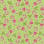 Candy Canes Lime 6907-40