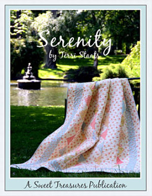 Serenity - T. Staats - Quilt fabric book