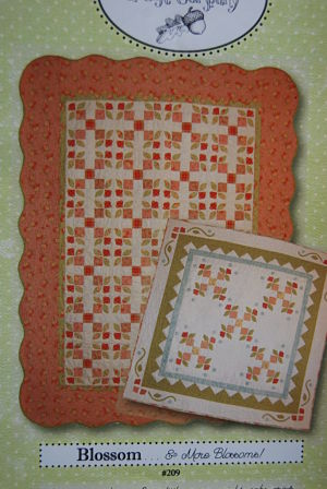 Blossom - Fig Tree Quilts - Quilt fabric pattern