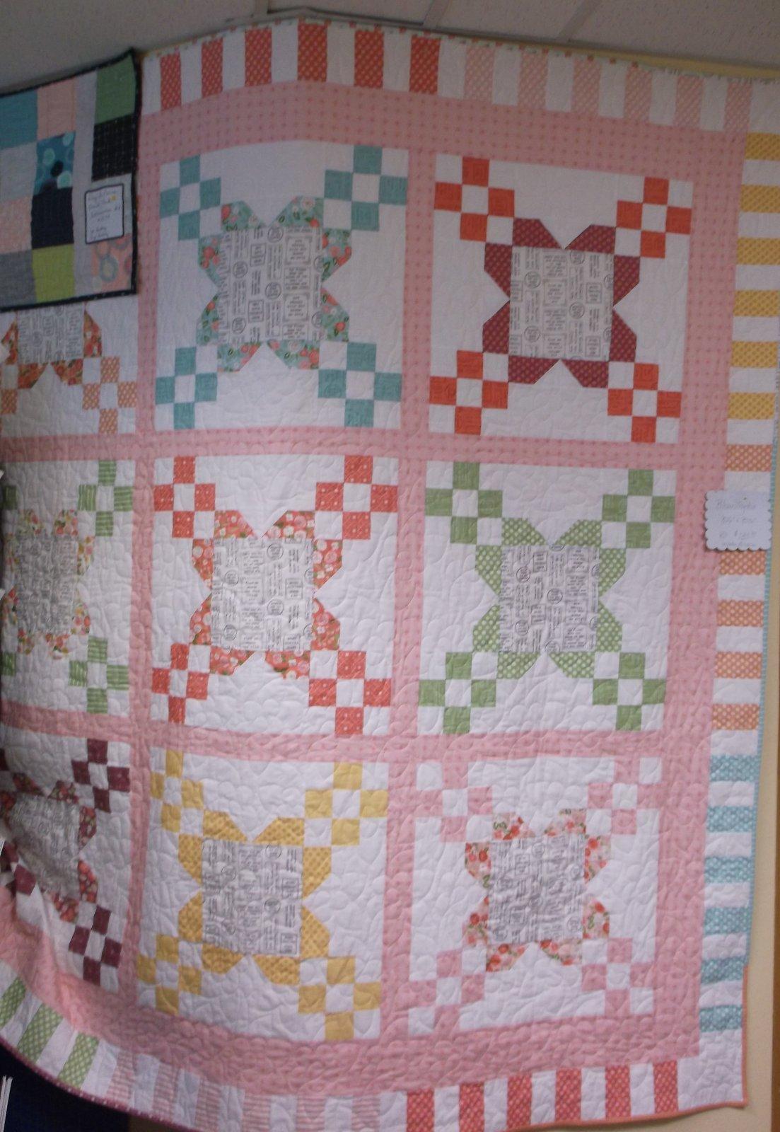 Bloomington quilt Kit Lollipop Garden