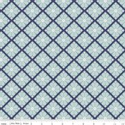 In the Meadow Lattice Blue C7992-Blue