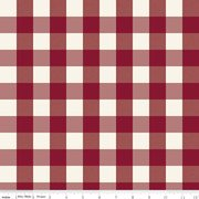 Winterberry Check My Minds Eye C8448-Red