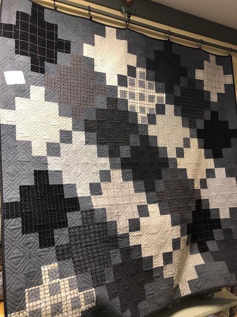 Celtic Crossing quilt kit Farmhouse Flannel