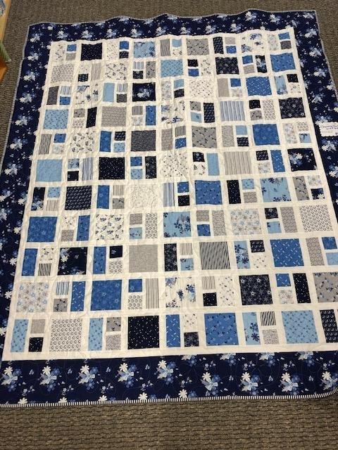 Charming Charlie Quilt kit - Blue Stitches