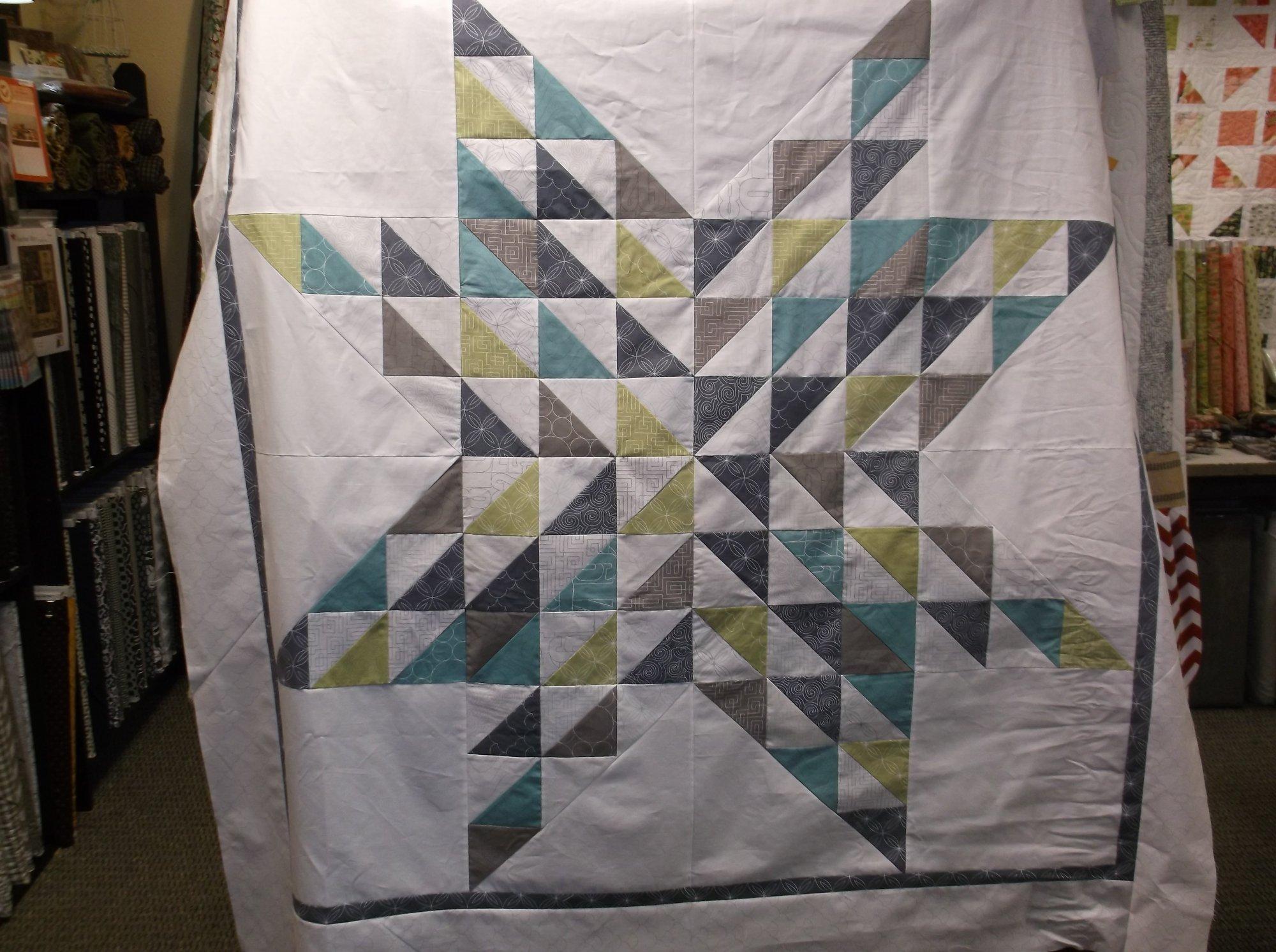 Thrive Barn Star quilt kit