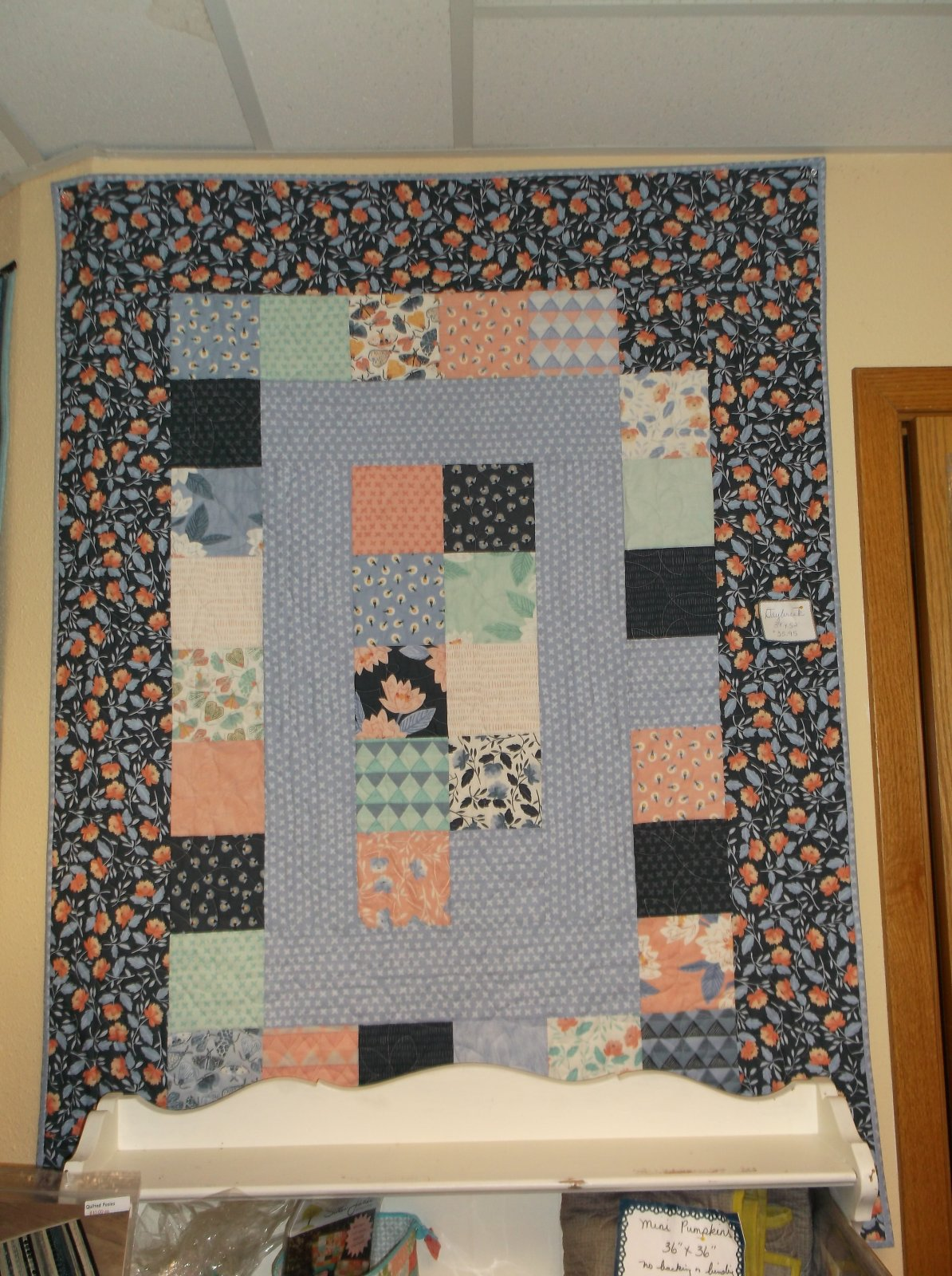 Daybreak quilt kit Twilight Oxford