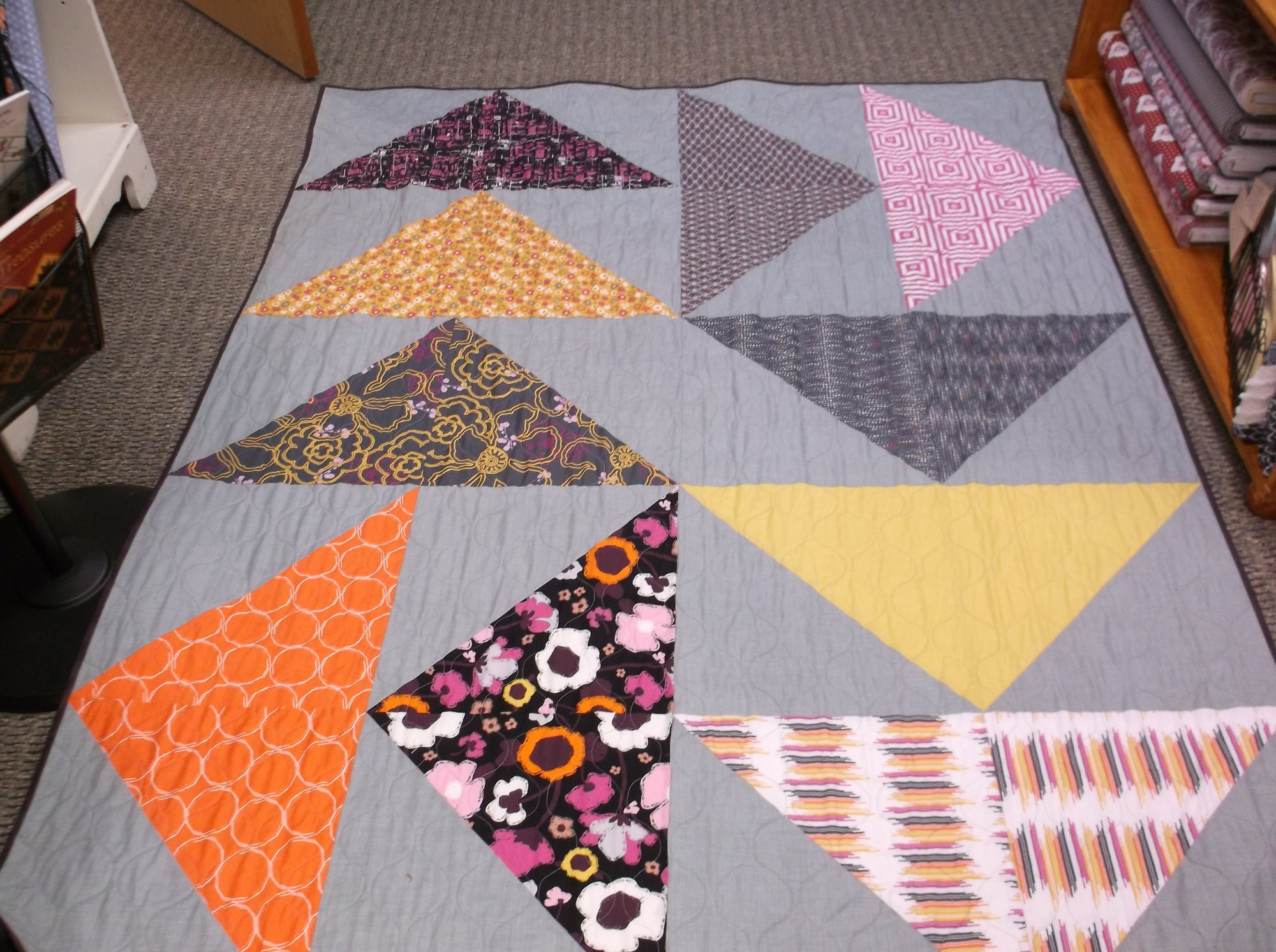 Lazy Goose quilt kit Art Gallery Fusion Sparkler