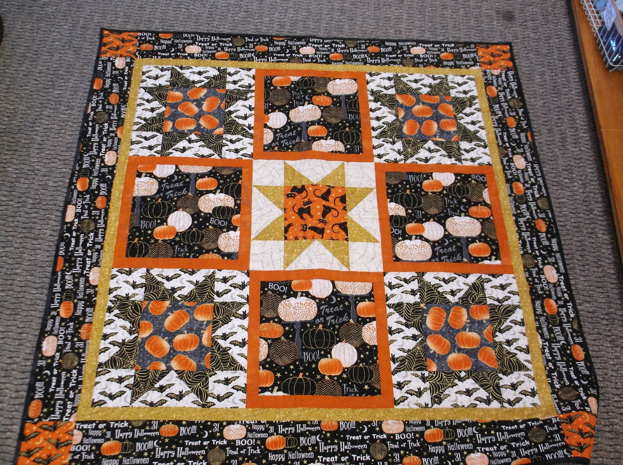 Midnight Spell Quilt kit
