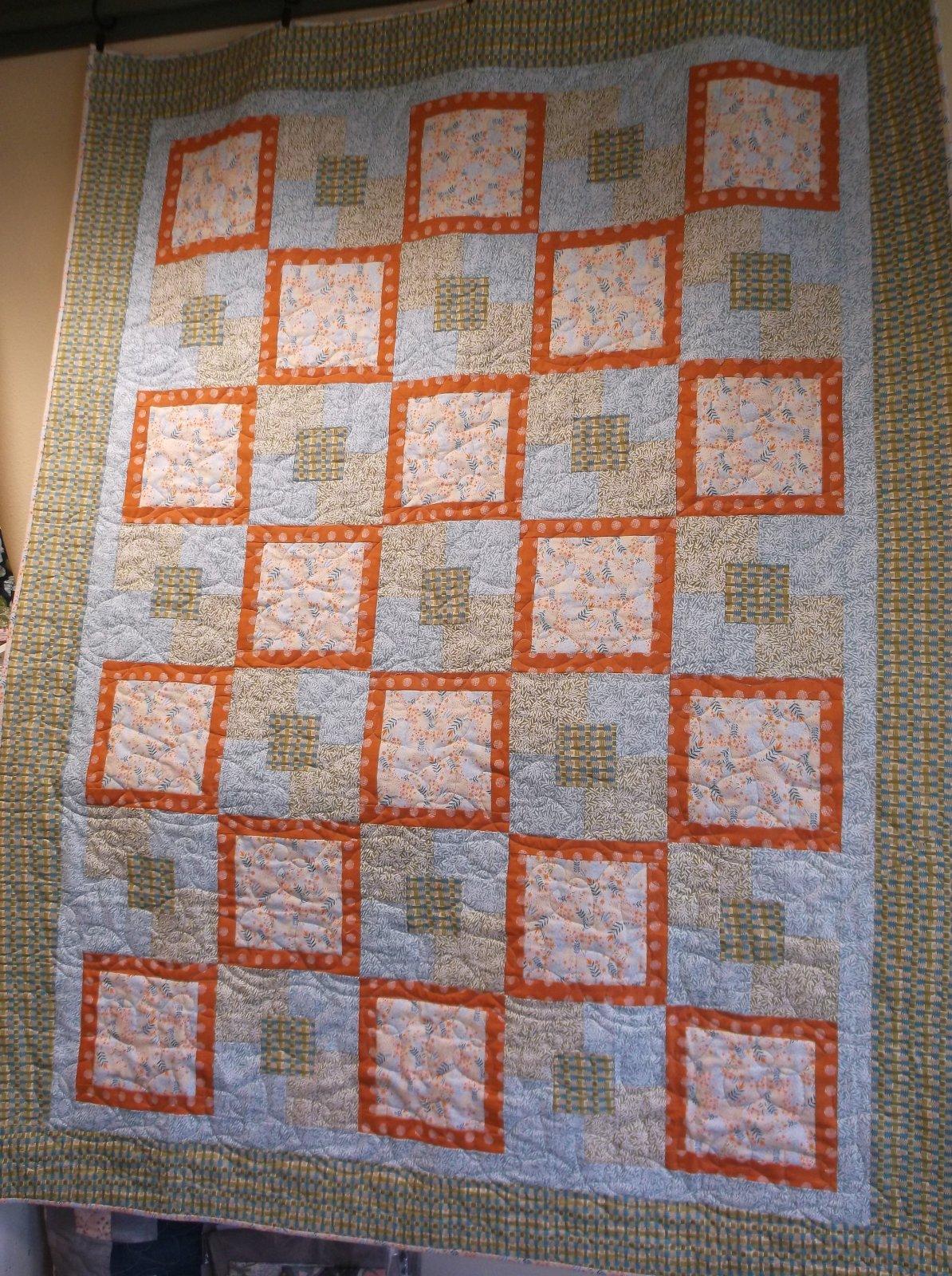 Five 1 yard quilt kit Fall fabrics