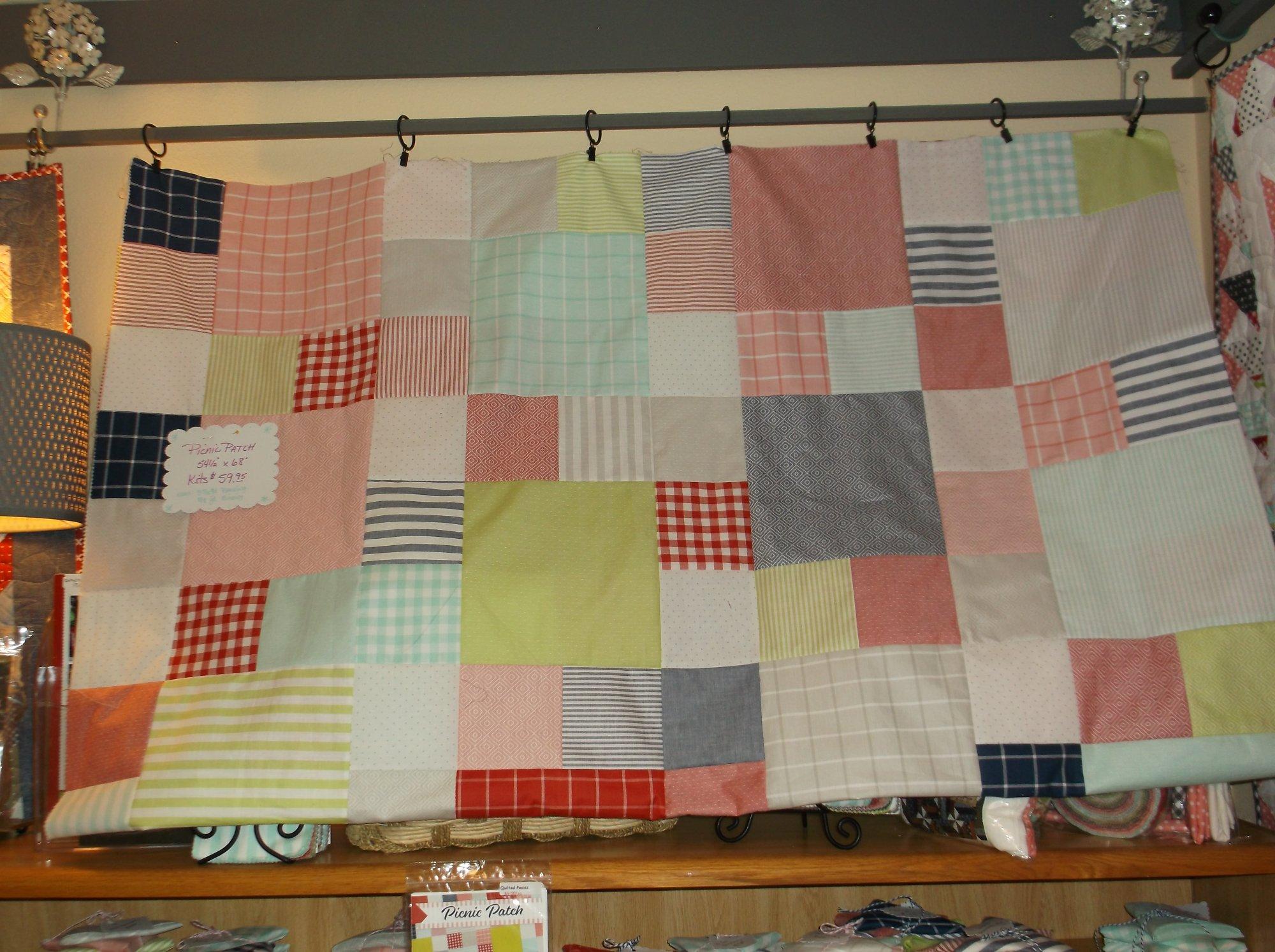 Picnic Patch quilt kit Bonnie & Camille Wovens
