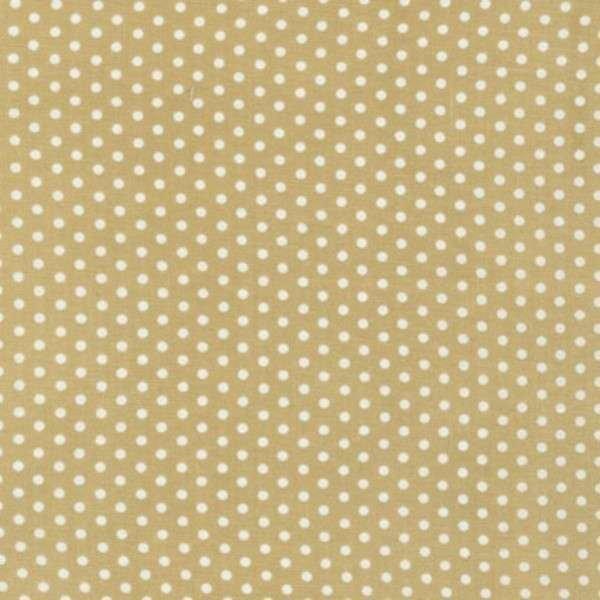 Khaki Tiny Dots Robert Kaufman 12873214