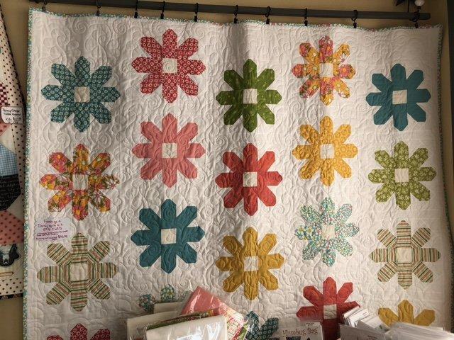 Fresh As A Daisy quilt kit