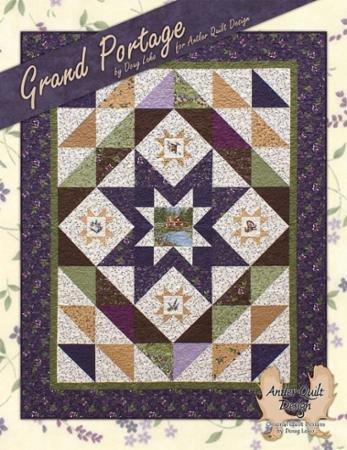 Grand Portage - AQD 0403 - Antler Quilt Design
