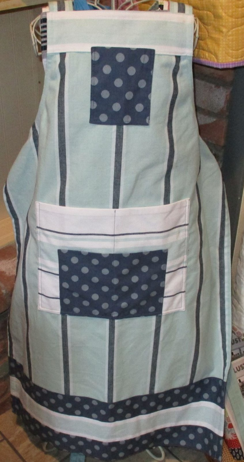 Utility Apron Teal and Blue kit