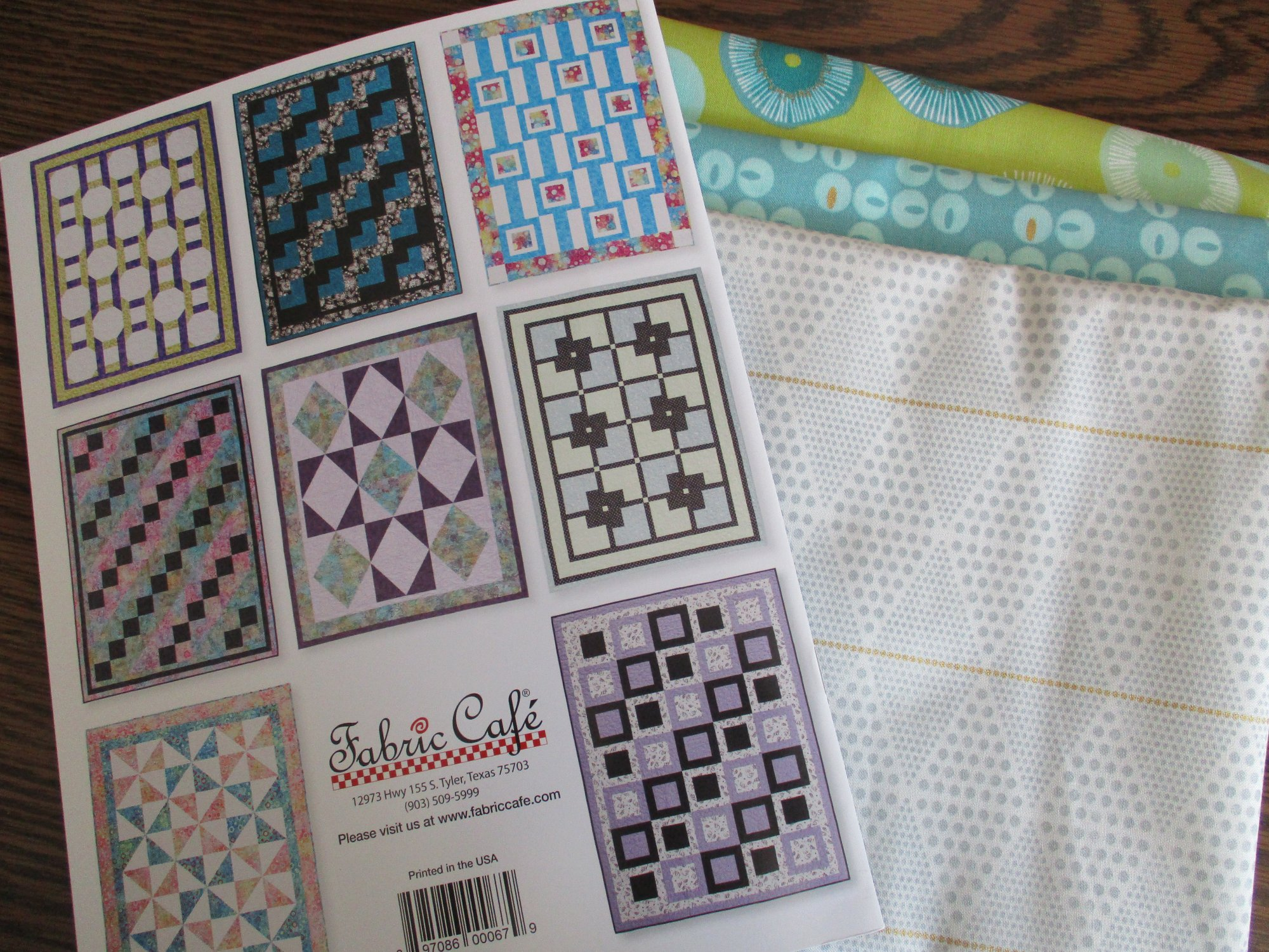 Modern Views with 3-Yard Quilts kit