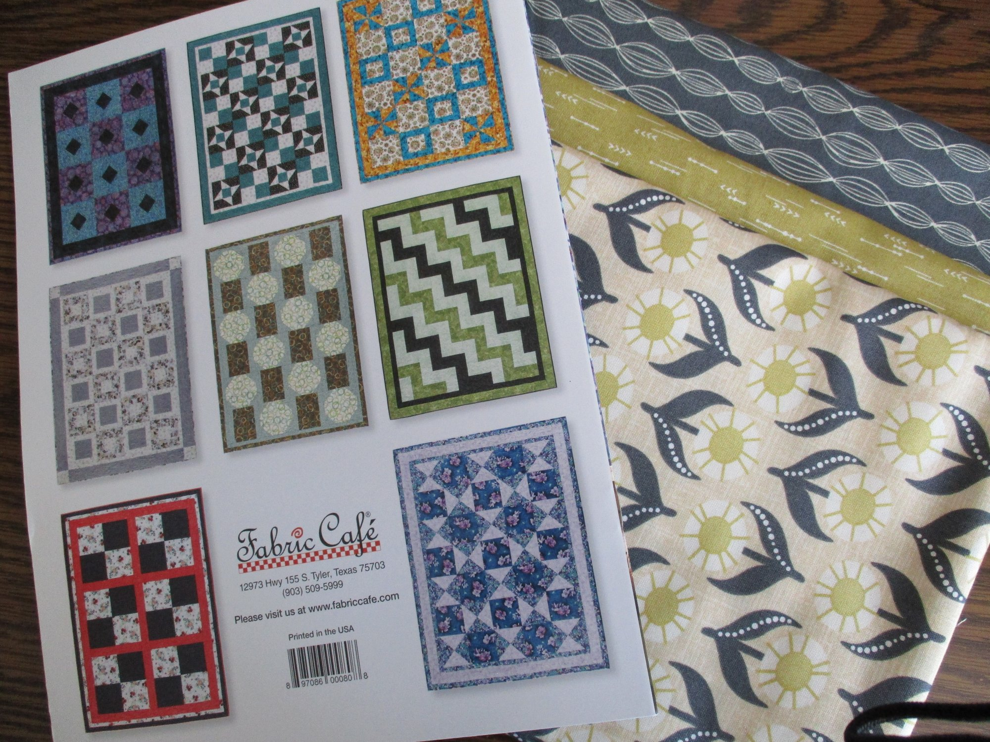 Easy Does It 3-Yard Quilts kit