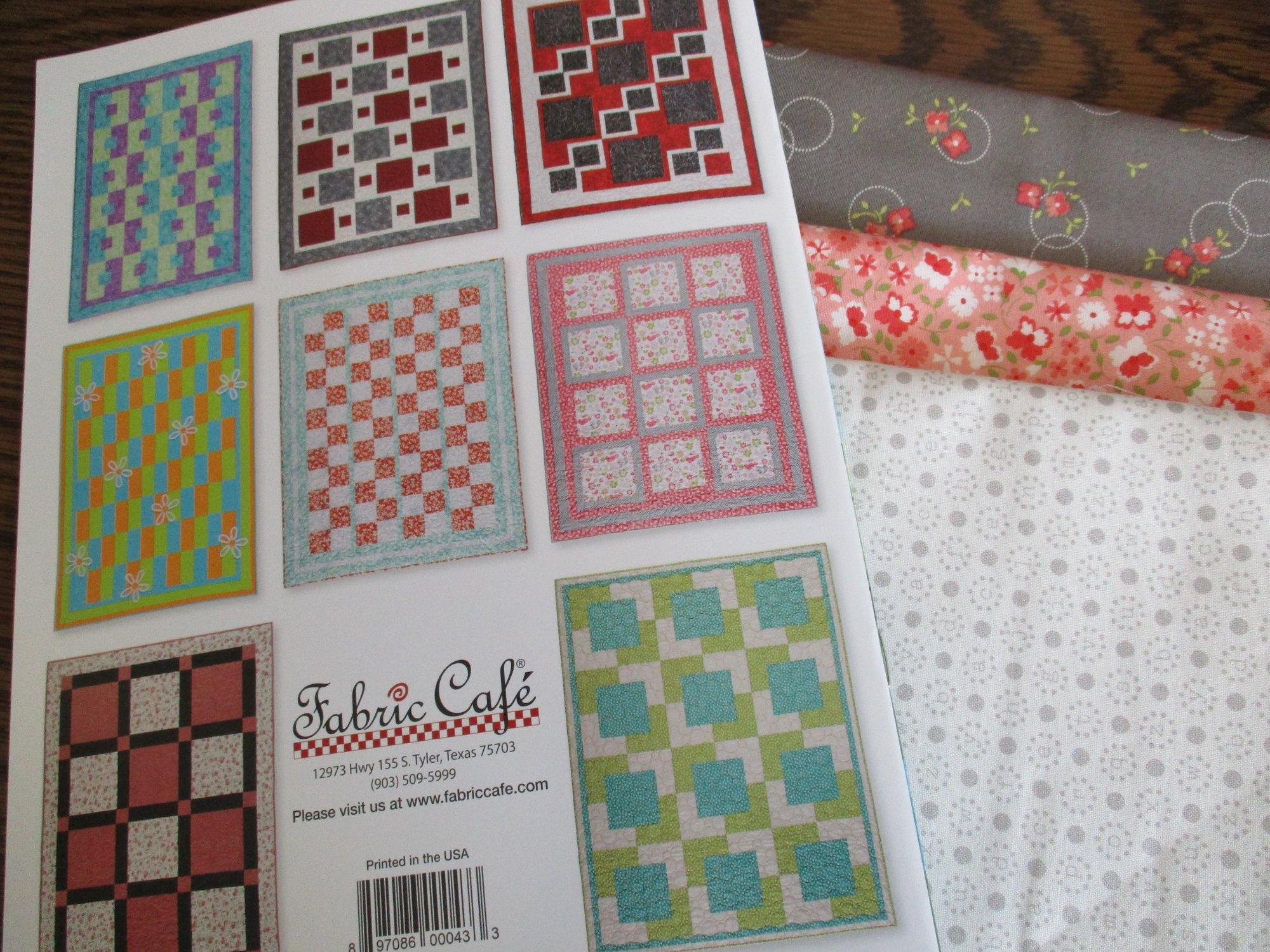 Easy Peasy 3-Yard Quilts quilt kit