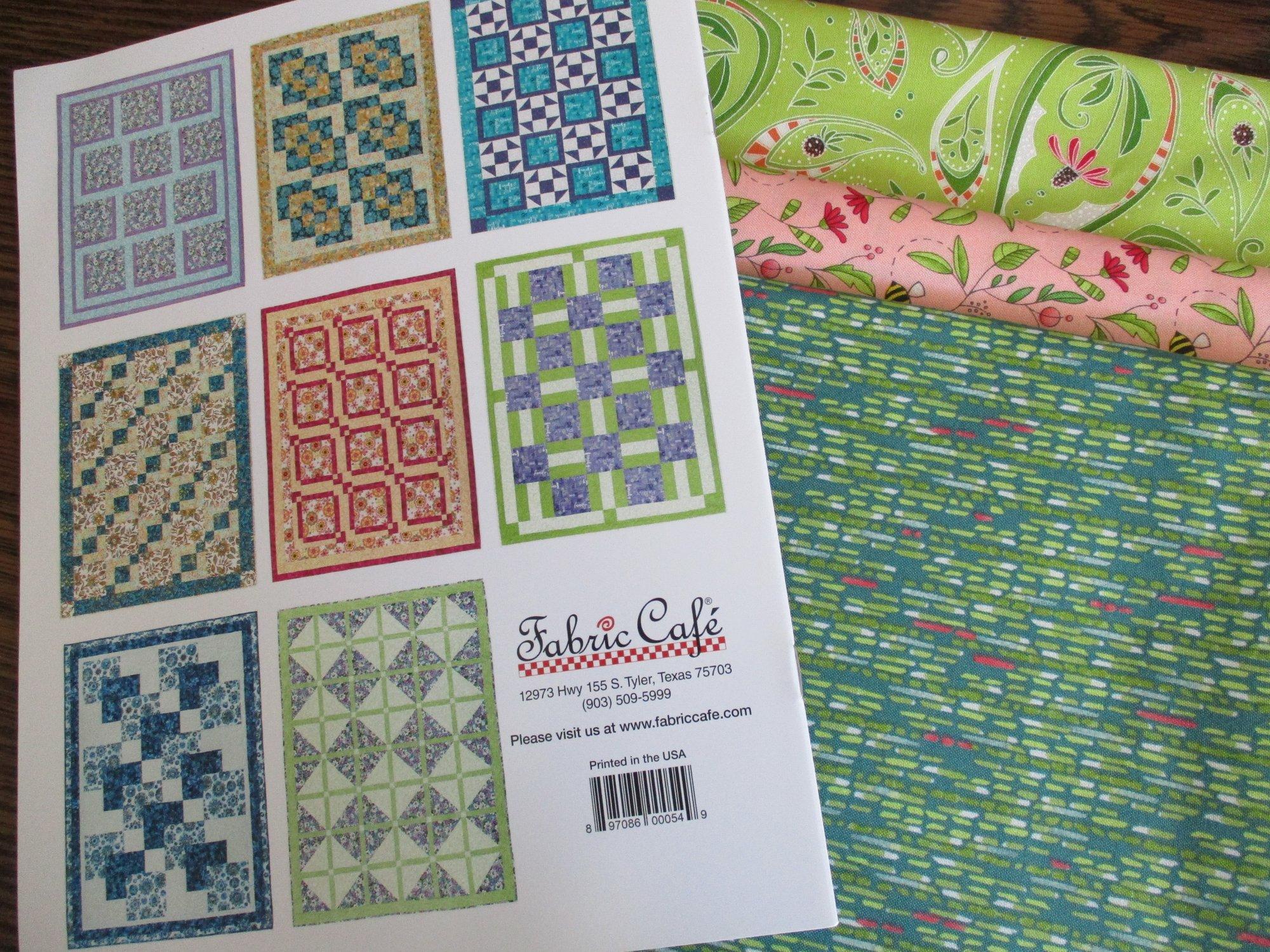 Pretty Darn Quick 3-Yard Quilts quilt kit