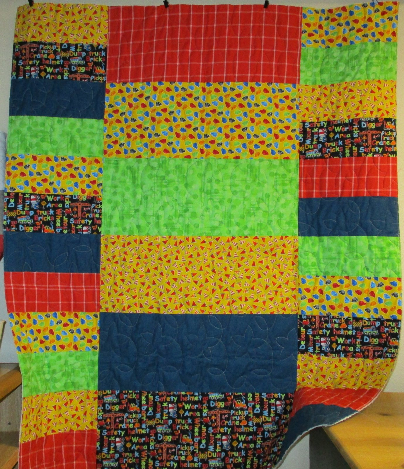 Childs Play Boy quilt kit
