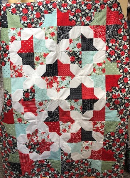 Speedwell Quilt Kit Litte Tree Lella Boutique