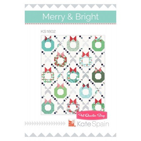 Merry and Bright Christmas Trees Kate Spain KS1802